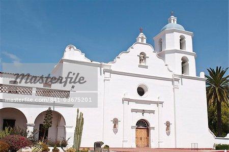 Mission San Luis Rey de Francia, Oceanside, California, United States of America, North America