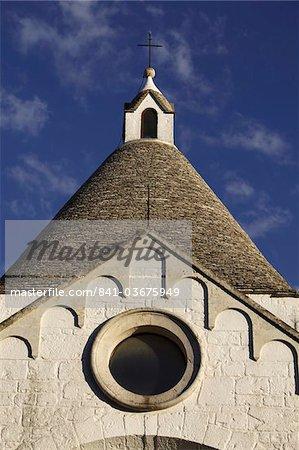 San Antonio church, Alberobello, Apulia, Italy, Europe
