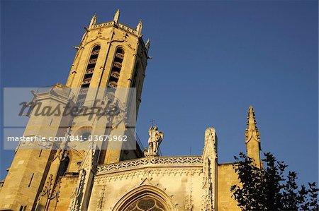 Saint-Sauveur cathedral, Aix-en-Provence, Bouches du Rhone, Provence, France, Europe