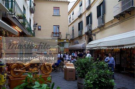 In the center of Sorrento, Costiera Amalfitana, Campania, Italy, Europe
