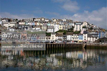 Brixham Quayside, South Devon, England, United Kingdom, Europe