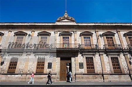 Colegio de San Nicolas, dating from 1540, The University of Michoacan, first university in the Americas, Morelia, UNESCO World Heritage Site, Michoacan state, Mexico, North America