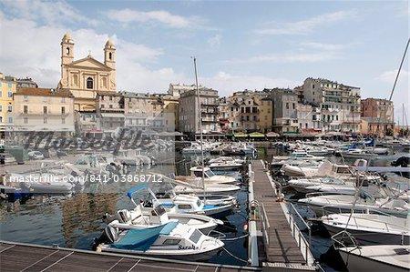 The yacht port of Bastia, Corsica, France, Mediterranean, Europe