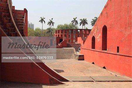 Jantar Mantar, Astronomical Observatory, Delhi, Uttar Pradesh, India, Asia