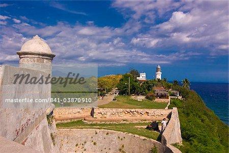 Castillo de San Pedro del Morro, UNESCO World Heritage Site, Santiago de Cuba, Cuba, West Indies, Caribbean, Central America