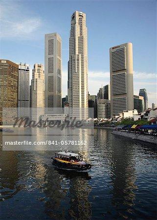 Singapore River, Singapore, Southeast Asia, Asia