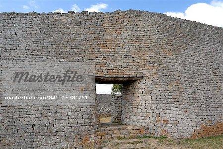 Geat Zimbabwe, UNESCO World Heritage Site, Zimbabwe, Africa