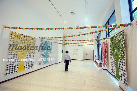 Interior, Museo de Arte de El Salvador, San Salvador, El Salvador, Central America