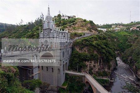 Santuario de las Lajas, Ipiales, Colombia, South America