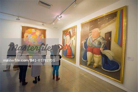 Art work by Fernando Botero, Museo de Antioquia, Botero Museum, Medellin, Colombia, South America