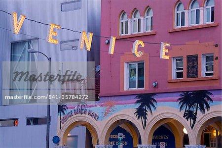 Downtown Venice Beach, Los Angeles, California, United States of America, North America