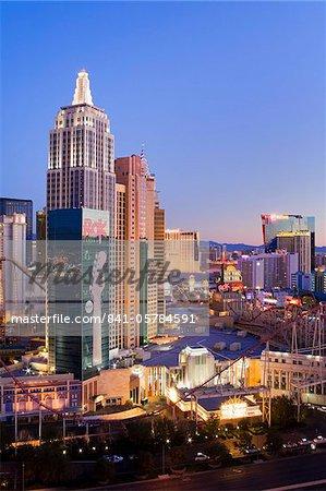 New York New York Casino, Las Vegas, Nevada, United States of America, North America