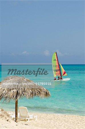 Cayo Santa Maria, Beach, Sol Cayo Santa Maria Resort, Cayo Santa Maria, Cuba, West Indies, Caribbean, Central America