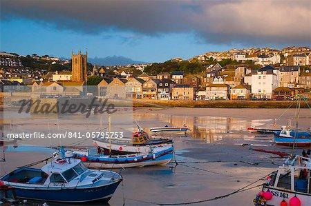 St. Ives Harbour, Cornwall, England, United Kingdom, Europe