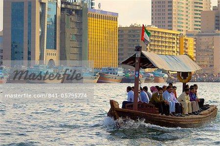 Deira across Dubai Creek, Dubai, United Arab Emirates, Middle East
