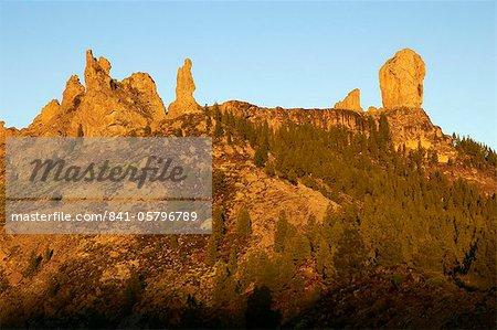 Site of Roque Nublo, Grand Canaria, Canary Islands, Spain, Europe