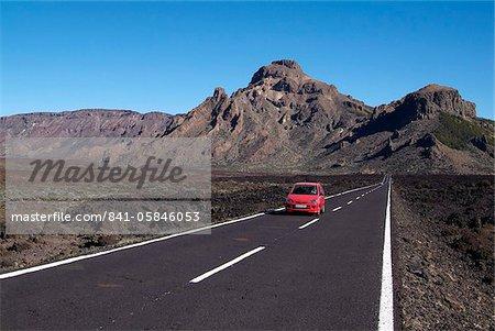 Las Canadas, Parque Nacional del Teide, UNESCO World Heritage Site, Tenerife, Canary Islands, Spain, Europe