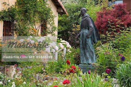 Mission San Carlos Borromeo, Carmel-By-The-Sea, Monterey County, California, United States of America, North America