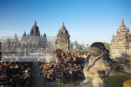 Sewu Temple, Prambanan, UNESCO World Heritage Site, Java, Indonesia, Southeast Asia, Asia