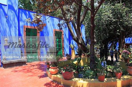 Frida Kahlo museum, Coyoacan, Mexico City, Mexico, North America