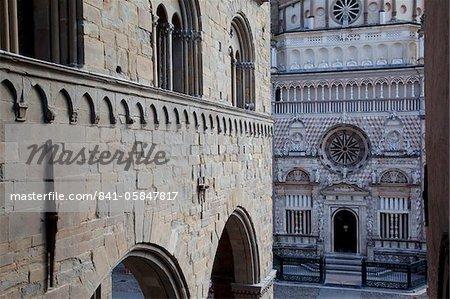 Collieoni Chapel, Piazza Vecchia, Bergamo, Lombardy, Italy, Europe