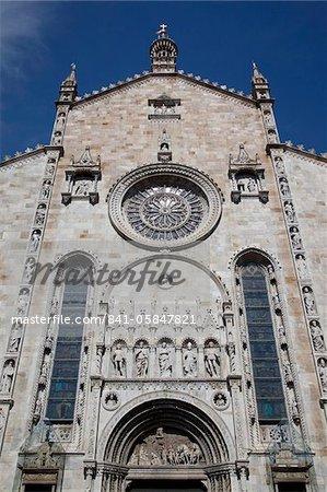 Duomo, Piazza del Duomo, Como, Lake Como, Lombardy, Italy, Europe