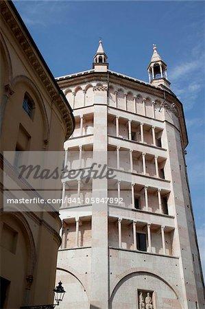 The Baptistry, Parma, Emilia Romagna, Italy, Europe