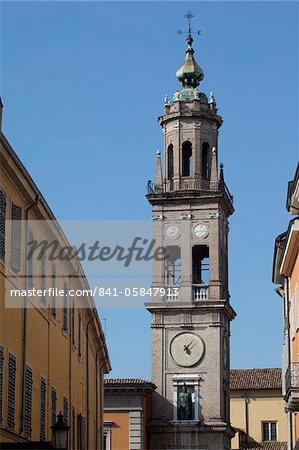Church Belltower, Parma, Emilia Romagna, Italy, Europe