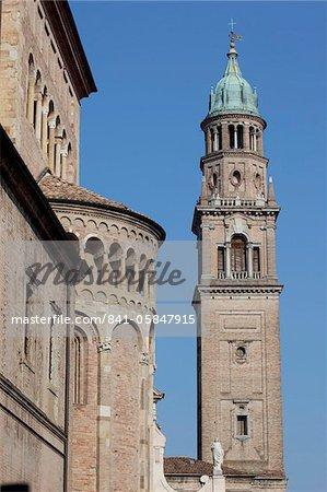 Monastery belltower, Parma, Emilia Romagna, Italy, Europe