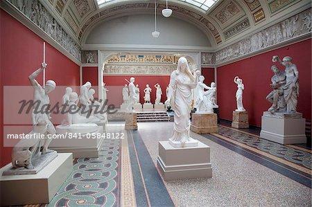 Interior, NY Carlesberg Glyptotek Art Museum, Copenhagen, Denmark, Scandinavia, Europe