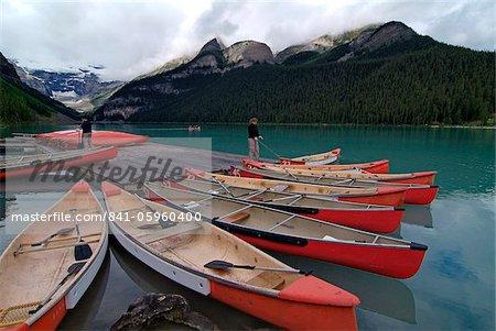 Lake Louise, Banff National Park, UNESCO World Heritage Site, Alberta, Rocky Mountains, Canada, North America