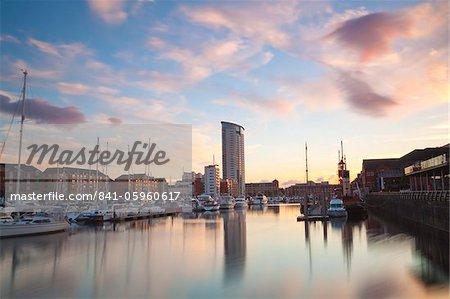 Swansea Marina, West Glamorgan, South Wales, Wales, United Kingdom, Europe