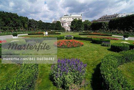 Volksgarten, Vienna, Austria, Europe