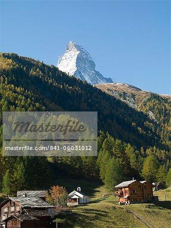 Matterhorn, Zermatt, Valais, Swiss Alps, Switzerland, Europe