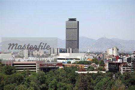 Mexico City skyline, Mexico City, Mexico, North America