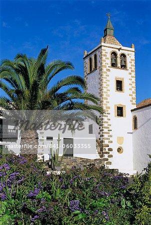 Betancuria church, Betancuria, Fuerteventura, Canary Islands, Spain, Europe