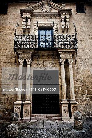 Elaborate doorway, Ronda, Andalucia, Spain, Europe