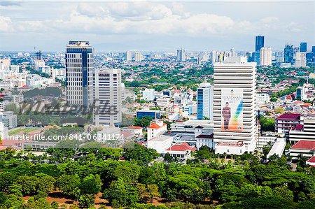 City skyline, Jakarta, Java, Indonesia, Southeast Asia, Asia