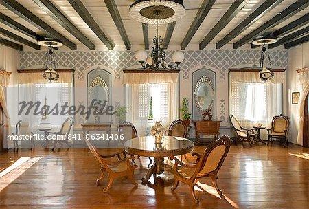 Villa Angela, a classic Filipino Bahai na bato, Vigan, Ilocos Sur, Philippines, Southeast Asia Asia