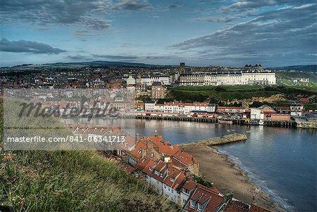 Whitby harbour, North Yorkshire, Yorkshire, England, United Kingdom, Europe