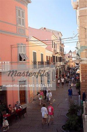 La Maddalena town, Maddalena Islands, Sardinia, Italy, Europe