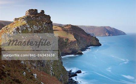 Valley of Rocks, Exmoor, Devon, England, United Kingdom, Europe