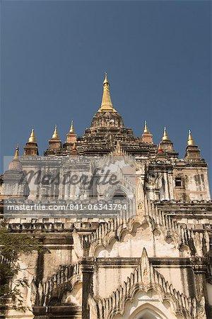 Thatbyinnyu Pahto, Bagan (Pagan), Myanmar (Burma), Asia