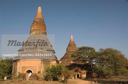 Small paya, Bagan (Pagan), Myanmar (Burma), Asia