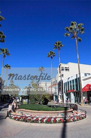 Third Street Promenade, Santa Monica, Los Angeles, California, United States of America, North America