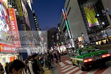Street scene, Shibuya, Tokyo, Japan, Asia