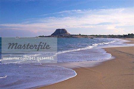 Coastal landscape, Yala National Park, Sri Lanka, Asia