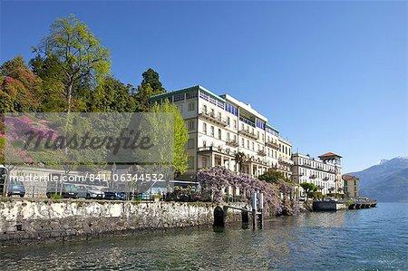 Spring Sunshine On The Grand Hotel Cadenabbia Lombardy Lake Como