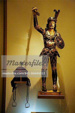 The Sculpture of Sao Jorge (St. George) by Aleijadinho at Museu da Inconfidencia, Ouro Preto, Minas Gerais, Brazil, South America