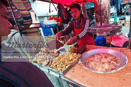 Outdoor market in Chichicastenango, Guatemala, Central America